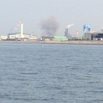 姫路沖タンカー爆発事故の近くに居合わせた