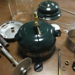 コールマンのランタン「290A」の分解とジェネレーター交換方法